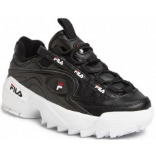 Sneakers Fila black with laces